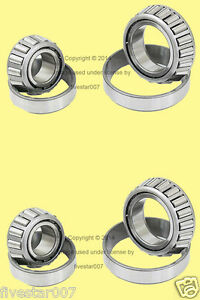 2 Left Right Axle Front Wheel Bearing Kits W Retainer For Toyota Pickup Tacoma
