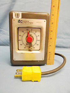 Itc Industrial Timer Company Pab 60s Industrial 60 Second Interval Timer