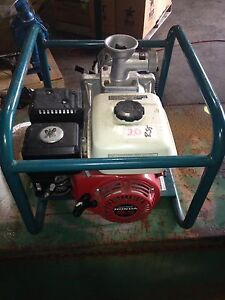 Itt Marlow 2mlth 5 5hp Honda Gas Powered Water Pump