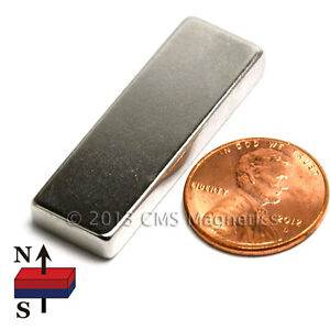 Neodymium Magnets N45 1 5 x1 2 x3 16 Ndfeb Rare Earth Magnets 200 Pc