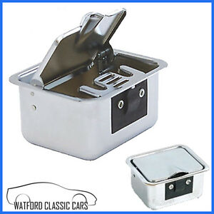 Ashtray Mgb All Chrome Suitable For Cars With Centre Console