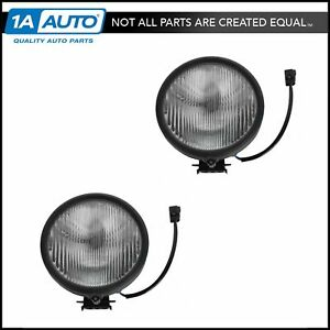 Fog Driving Light Lamp Lh Driver Rh Passenger Pair For Jeep Liberty Renegade