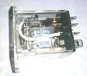 307 2594 Onan Start Disconnect Relay Omron Ly2 ua 006276 120vac 10 Amp Nos