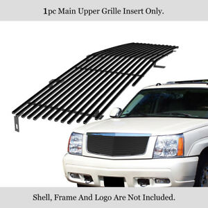For 2002 2006 Cadillac Escalade Ext Esv Black Billet Premium Grille