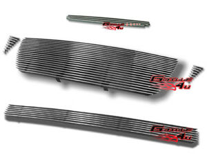 Customized For 2005 2010 Toyota Tacoma Billet Premium Grille Combo