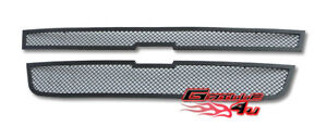 For 2004 2010 Chevy Colorado Black Stainless Mesh Premium Grille Insert