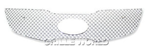 Fits 2011 2013 Kia Sportage Stainless Steel Double Wire X Mesh Grille Insert