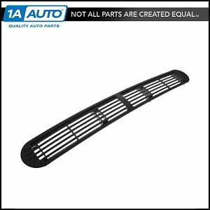 Gm Dash Defroster Grille Black Front For Blazer Jimmy Bravada S10 S15 Pickup