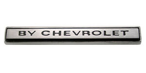 New Trim Parts By Chevrolet Rear Emblem For 1970 Chevy Monte Carlo 1635