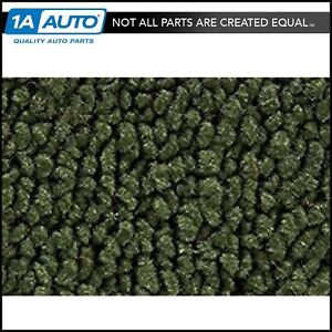 64 66 Barracuda Auto Passenger Area Carpet W O Console Strips 30 Drk Olive Green