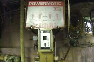 Pre owned Powermatic Drill Press Model 1150a S n 8215s037