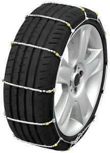 Quality Chain 1014 Cobra Cable Tire Chains Snow Traction Passenger Vehicle Car