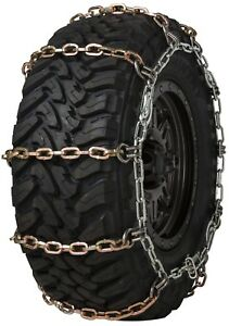 Quality Chain 3129hdqc Wide Base Cam 8mm Square Link Tire Chains Snow Suv Truck