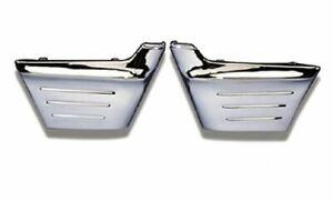 56 1956 Chevy Chrome Front Fender Side Extensions