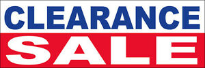 4x12 Ft Clearance Sale Vinyl Banner Sign New