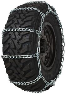 Quality Chain 3829 Wide Base Non cam 7mm V bar Link Tire Chains Snow Suv Truck