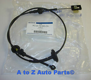 New 1999 2004 Ford Super Duty Or Excursion Auto Transmission Shift Cable oe Ford