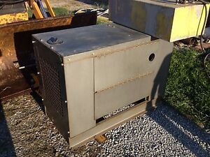 Martin Diesel 7 5kw Generator 7500 Watt 3480 Hrs Very Clean