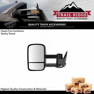 Trail Ridge Towing Mirror Power Lh Left Driver Side For 88 98 Chevy Gmc Truck