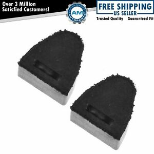 Dorman Tailgate Bumper Stop Driver Passenger Pair Of 2 For Chevy Gmc Hummer