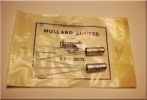 Oc72 Pairs Mullard 10 X 2 Transistor Germanium For Fuzz Clone The Last
