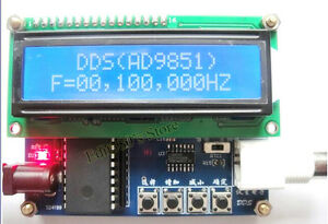 New Ad9851 Dds Function Signal Generator 0 50mhz Dds Source Scm Dds Module