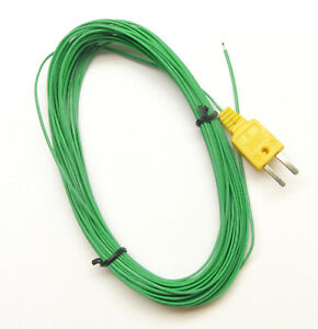 Extra Long 49ft 15m K type Thermocouple Wire For Digital Thermometer Temperature