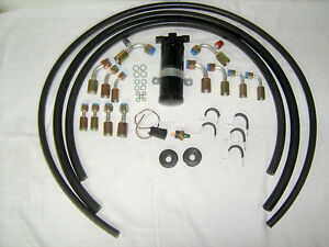 Air Conditioning A c Hose Kit fittings drier Binary Switch general Use rat Rod