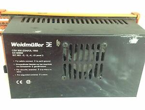 Weidmuller Power Supply Csa 950 pzb