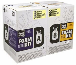 Touch N Seal 1000 Bf Spray Foam Insulation Kit Open Cell Fr 4004521000