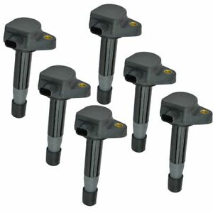 Ignition Coil Set Of 6 For Honda Accord Crosstour Odyssey Acura Rl Tl Tsx