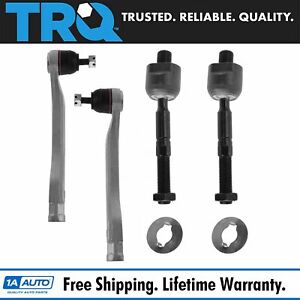Trq Tie Rod End Front Inside Inner Outside Outer Set Of 4 For Acura Cl Tl Accord