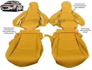 Porsche 911 Carrera 993 1995 1998 Leather Seat Covers Replacement