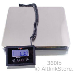 Saga 160 Lb X 0 1 S Digital Postal Scale For Shipping Weight Postage W ac 76 Kg