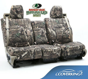 New Full Printed Mossy Oak Break Up Infinity Camouflage Seat Covers 5102025 33
