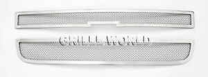 For 2003 2016 Chevy Explorer Conversion Van Stainless Steel Mesh Grille