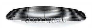 For 2001 2003 Chrysler Sebring Sedan Black Billet Premium Grille Insert