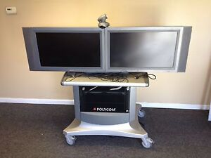 Polycom Vsx 8000 Dual Monitor Video Conferencing Unit Vsx8000
