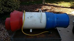 Coppus Vano 250 Confined Space Manhole Tank Ventilation Ducted Fan Axial Blower