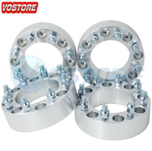 4 2 8x170 Wheel Spacers For Ford Excursion F 250 Super Duty Heavy Duty Trucks