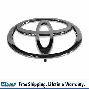 Toyota Grille Emblem Chrome Adhesive Front For Camry Matrix Us Built