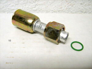 Ac A C Beadlock A C Fittings Crimp On Female O Ring Straight 6 Bl1301