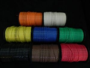 10 Gauge Thhn Wire Stranded Pick 2 Colors 100 Ft Each Thwn 600v Cable Awg