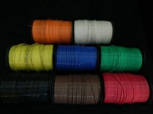 10 Gauge Thhn Wire Stranded Pick 4 Colors 100 Ft Each Thwn 600v Cable Awg