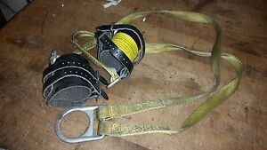 Wrist Strap Safety Harness Fall Protection Fire Rescue Winch Hoist Retrieval