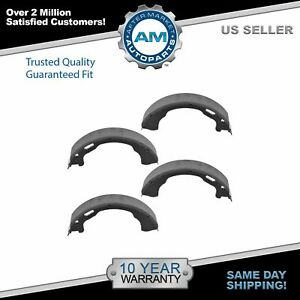 Nakamoto Parking Brake Shoe Rear Set For Explorer Aviator Mountaineer