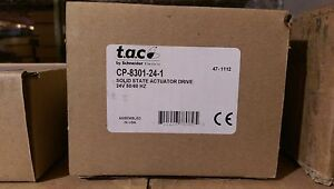 137 Barber Colman Siebe Invensys Cp 8301 24 1 Solid State Actuator Drive Nib