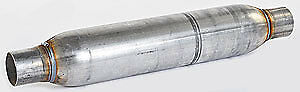 Dynomax 24235 Race Bullet Muffler In out 2 25
