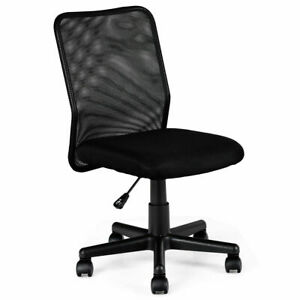 New Mid back Adjustable Ergonomic Mesh Swivel Durable Office Desk Task Chair