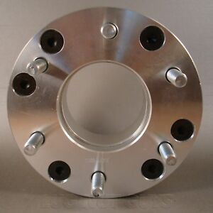 2 Wheel Spacers Adapters 5x4 5 To 6x5 5 2 Thick 5 Lug To 6 Lug